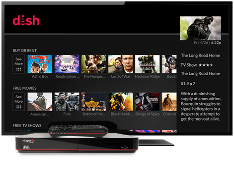 Ondemand TV from DISH | FRANK'S SATELLITE SERVICES